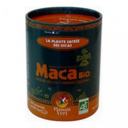 Maca Bio 340 cp de 500 mg en boite ECOCAN Flamant Vert