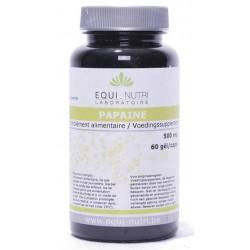 Papaïne 60 gélules végétales 500mg Equi-nutri
