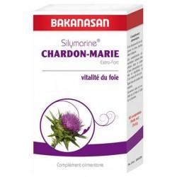 Silymarine Chardon Marie Extra fort 60 comprimés Bakanasan