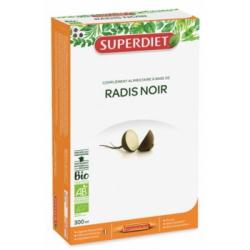Radis Noir Bio 20 ampoules de 15ml Super Diet