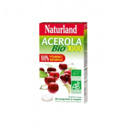 Acérola 1000 Bio 30 comprimés Naturland
