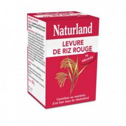 Levure de riz rouge - 75 gélules - Naturland