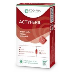 Actyferil 60 gélules Codifra