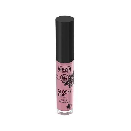 Gloss à lèvres Mauve doux 11  6.5ml Lavera maquillage minéral bio sante senior