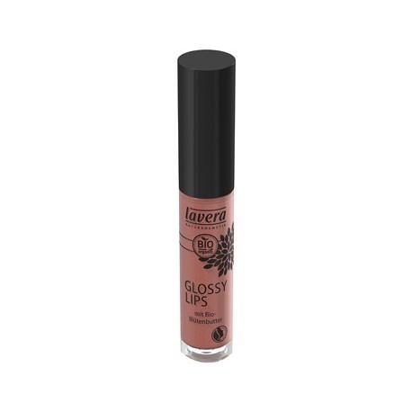 Gloss à lèvres Noisette nu 12  6.5 ml Lavera brillant et lumineux Bio sante senior