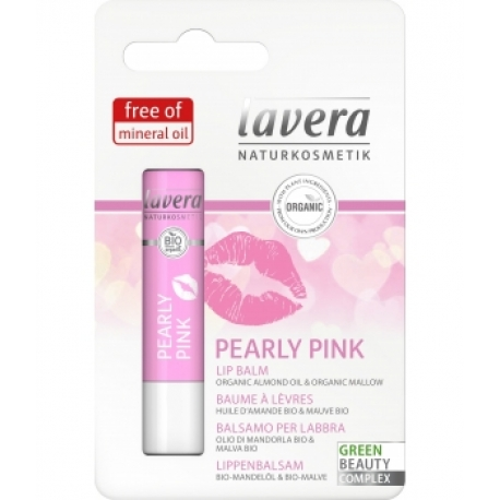 Baume à lèvres Amande Beurre de Cacao Beauty and Care Rosé 4.5gr Lavera