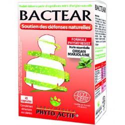 Bactear Confort et hygiène des voies respiratoires 45 capsules - Phyto-actif