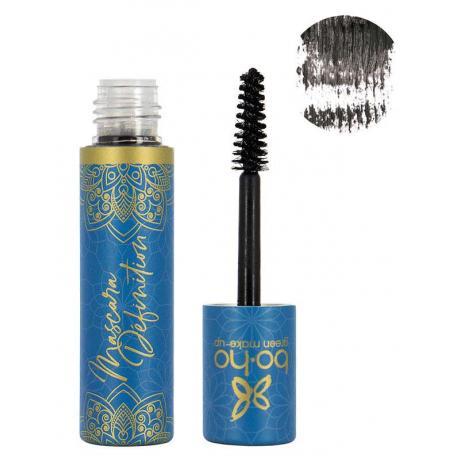 Mascara naturel Précision noir 01 6 ml Boho Green maquillage bio santé sénior