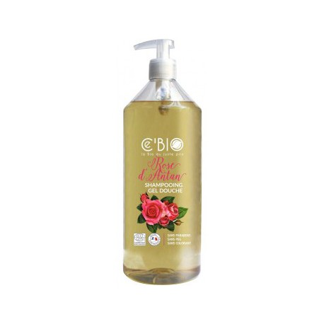 Shampooing douche Rose d'Antan 1 Litre C'BIO