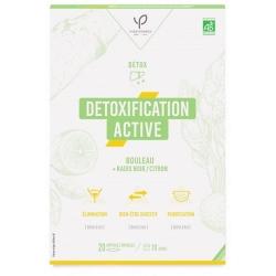 Détoxification active Radis noir Bouleau et Citron 20 ampoules de 10ml - Bio Conseils