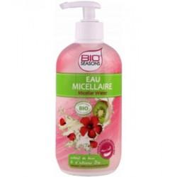 Eau Micellaire Kiwi et Hibiscus 500ml Bio Seasons