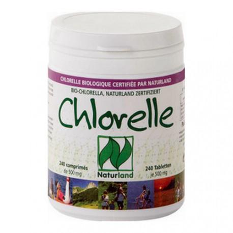 Chlorelle Bio Flamant vert, 120 gr 240 cp de 500 mg.