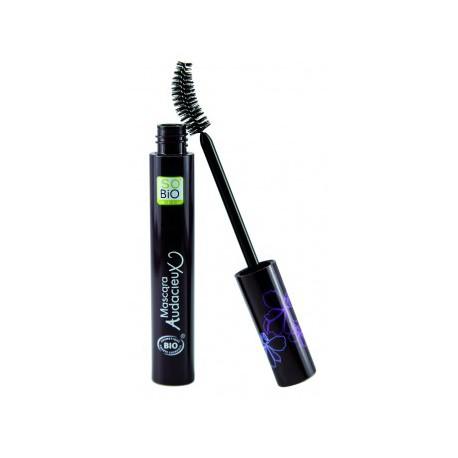 Mascara audacieux triple action 01 noir chic 10 ml So' Bio Etic - maquillage bio