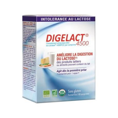 Digelact 4500 lactase 60 comprimés