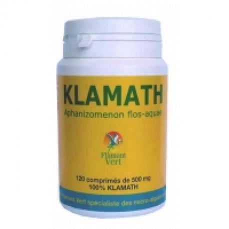 Klamath AFA Flamant vert 120 comprimés de 500 mg