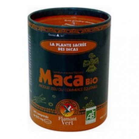 Maca Bio 340 comprimés de 500 mg en boite ECOCAN Flamant Vert