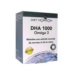 DHA 1000 Oméga 3 - 60 capsules Diet Horizon - omega 3 dha bio sante senior