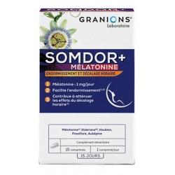 Somdor+ Mélatonine 15 comprimés