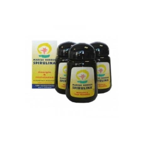 Spiruline Cure de 3 mois, fatigue intellectuelle ou physique 540 cp - Marcus Rohrer