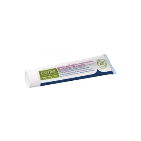 Cattier Paris Dentifrice Blanchissant Eridène sans sulfates ni fluor dentifrice bio santé senior