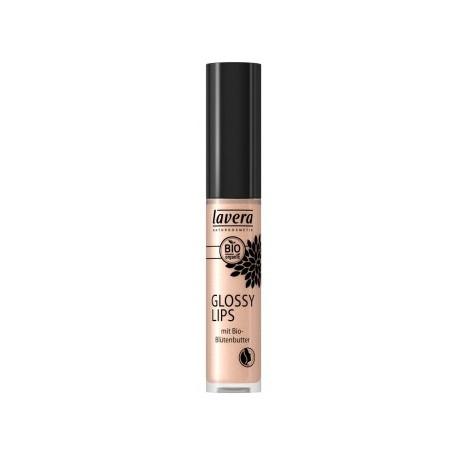 Gloss à lèvres neutre Charming Crystals 13 6,5 gr Lavera Bio sante senior