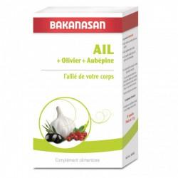 Ail Olivier Aubépine 210 capsules Bakanasan