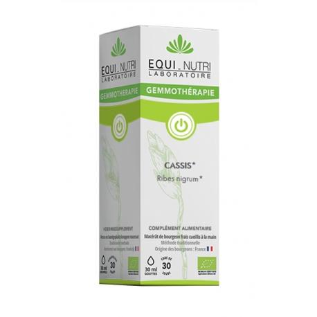 Cassis bourgeons bio Flacon 30ml Equi Nutri
