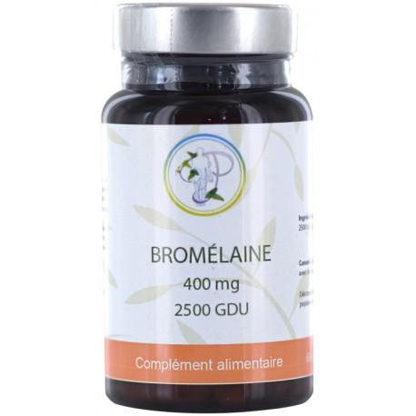 Bromelaine 2500 GDU fort 400 mg 60 gélules Planticinal