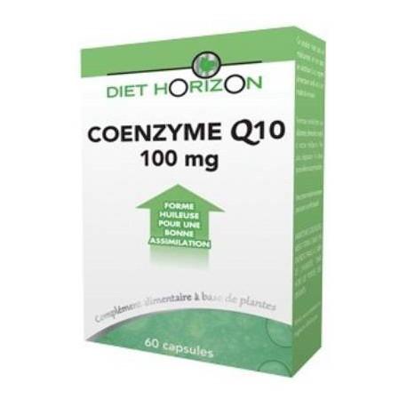 Coenzyme Q 10 - 60 capsules Diet Horizon