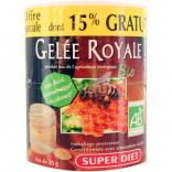 Gelée Royale bio pot de 25gr dont 15% gratuit Super Diet
