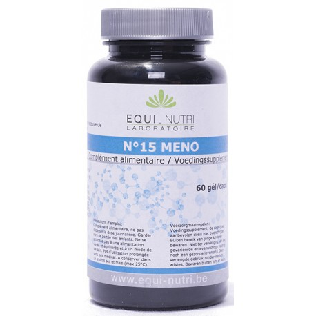 Méno Complexe N° 15 60 gélules Equi Nutri