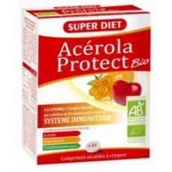 Acérola Protect Bio Gelée royale Pépins de pamplemousse 24 comprimés Super Diet