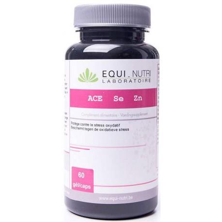 ACE Sélénium Zinc 60 gélules végétales Equi Nutri