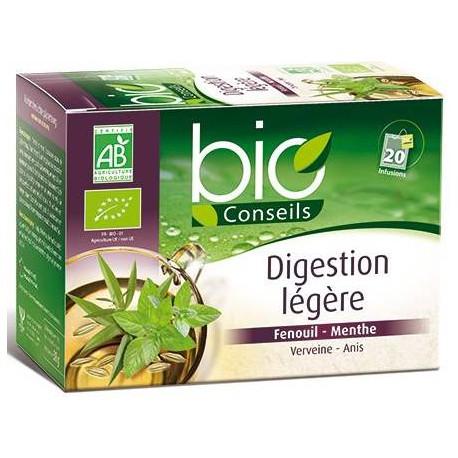 Infusion Digestion Légère bio 20 sachets Bio Conseils