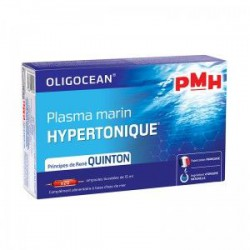 PMH Plasma marin hypertonique 20 ampoules de 15 ml Super diet