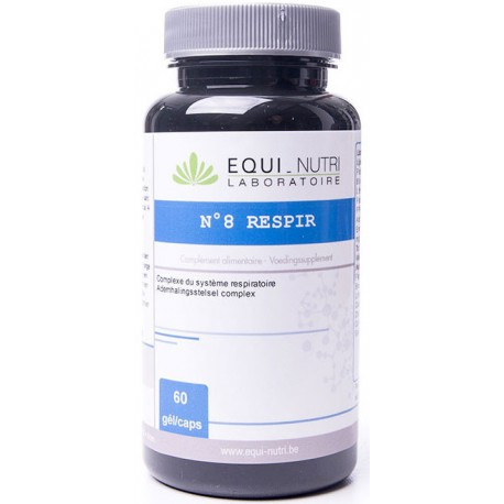 Respir Complexe 8 - 60 gélules végétales Equi Nutri
