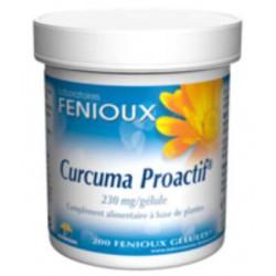 Curcuma Proactif 200 gélules Fenioux