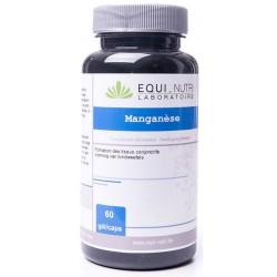 Manganèse 60 gélules végétales Equi Nutri