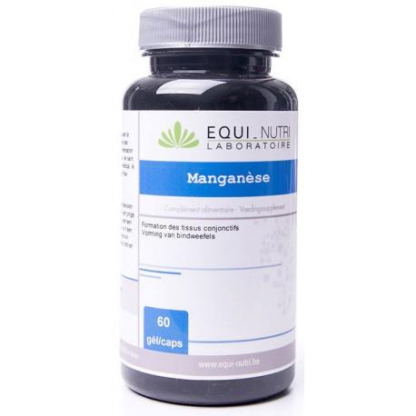 Manganèse 60 gélules végétales de 10mg Equi Nutri