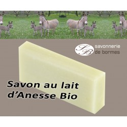 Savon 40 gr au lait d'ânesse bio