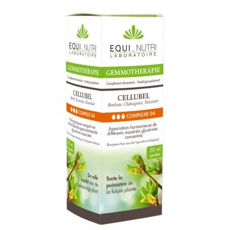 Cellubel Bio Flacon compte gouttes 30ml Equi Nutri