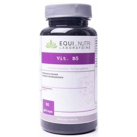 Vitamine B5 Acide pantothénique 90 gélules 18mg Equi Nutri