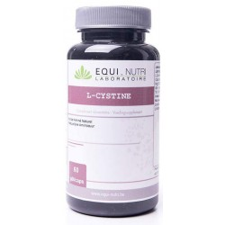 L-Cystine 500mg 60 gélules Equi Nutri
