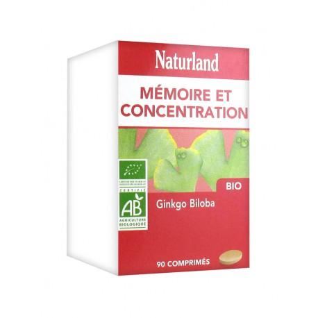 Ginkgo Biloba Bio 90 comprimés Naturland