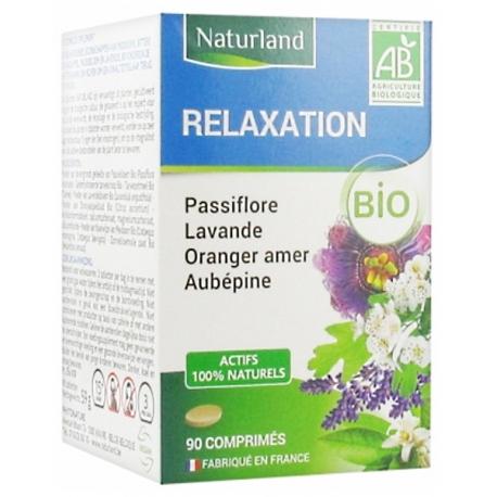 Passiflore Lavande Oranger Aubépine Bio 90 COMPRIMES Naturland
