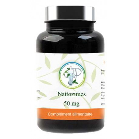 Nattozimes 650 FU Gastro-resistant 60 gélules Planticinal