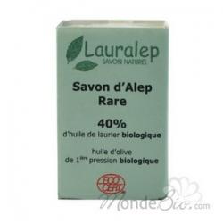 Savon d'Alep Rare 40% huile de laurier 150 g Lauralep