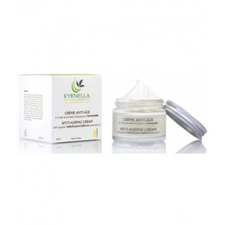 Crème anti-âge à l'huile essentielle biologique d'immortelle 50 ml - Kyrnella