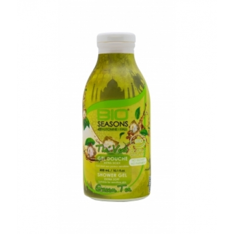 Gel douche Thé vert 300 ml Bio Seasons