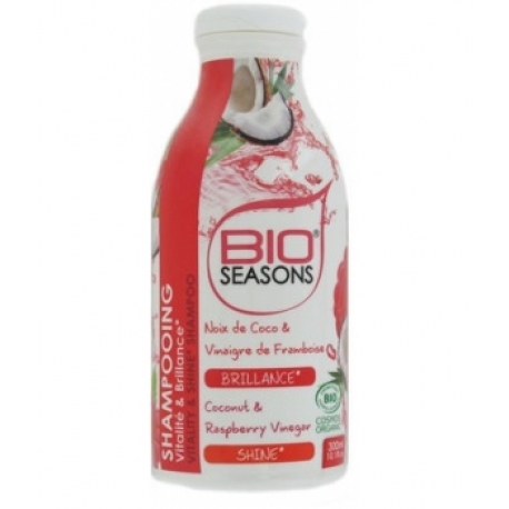 Shampoing Vitalité  et  Brillance 300 ml Bio Seasons